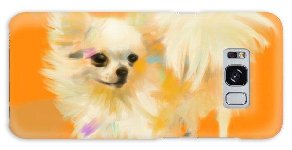 Dog Chihuahua Orange Galaxy Case
