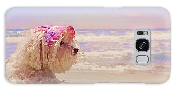 Dog Days Of Summer Galaxy Case by Andrea Auletta