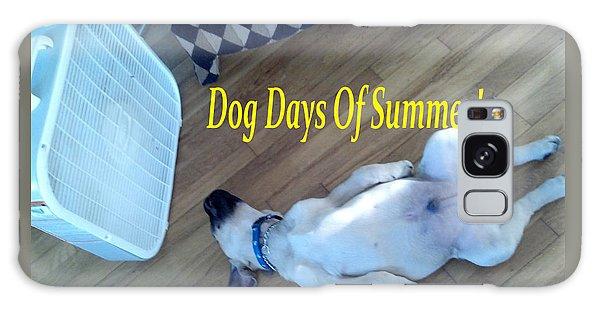 Dog Days Of Summer Galaxy Case