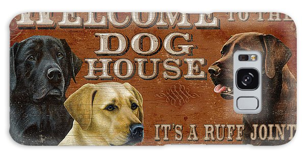 Chocolate Lab Galaxy Case - Dog House by JQ Licensing