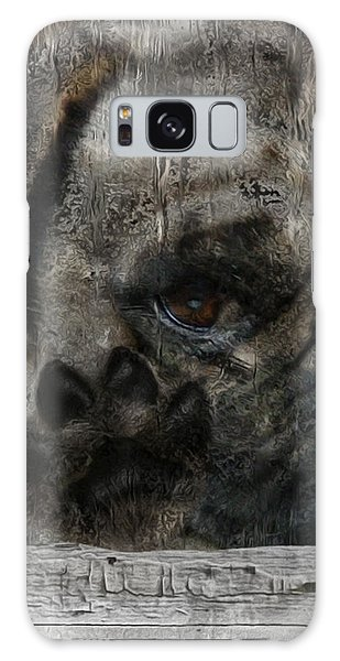 Imagery Galaxy Case - Dog In The Window by Jack Zulli