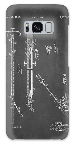 Leash Galaxy Case - Dog Leash Patent 1943 by Patricia Lintner