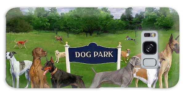 Dog Park Galaxy Case