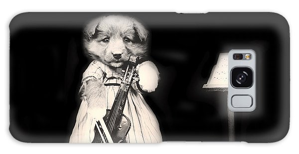 Violin Galaxy Case - Dog Serenade by Mountain Dreams