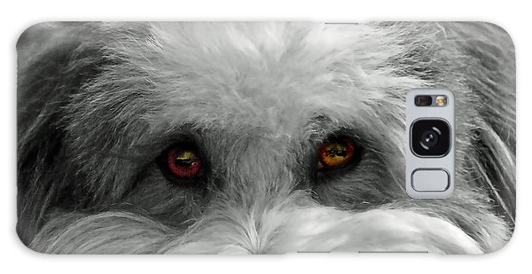 Coton Eyes Galaxy Case by Keith Armstrong