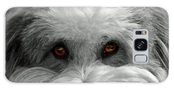 Coton Eyes Galaxy Case by Keith Armstrong