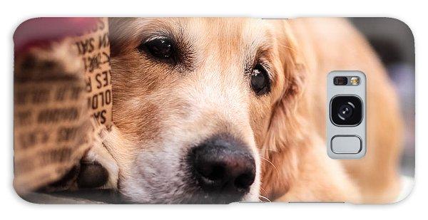 Galaxy Case featuring the photograph Dog's Sorrow by Stwayne Keubrick
