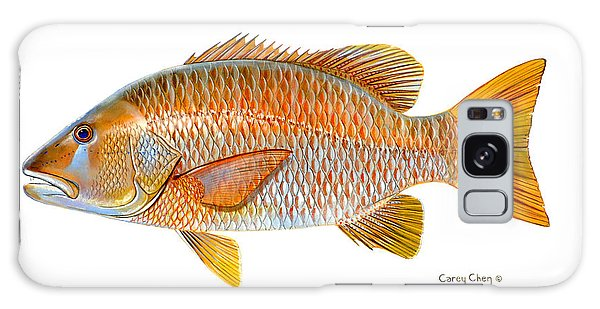 Mangrove Snapper Galaxy Case - Dogtooth Snapper by Carey Chen