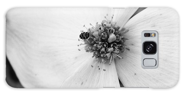 Dogwood Black And White 2 Galaxy Case