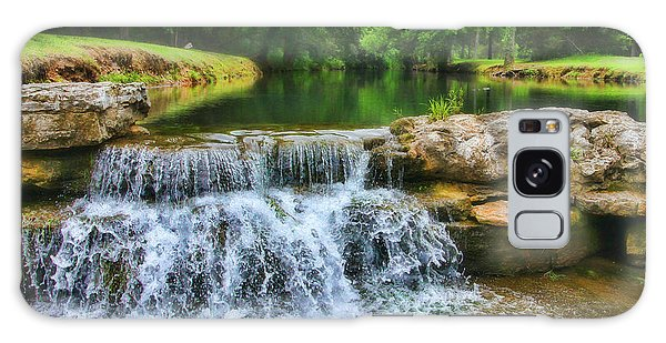 Dogwood Canyon Falls Galaxy Case
