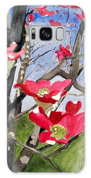 Dogwood Flowers Galaxy Case