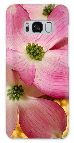 Dogwood In Pink Galaxy Case