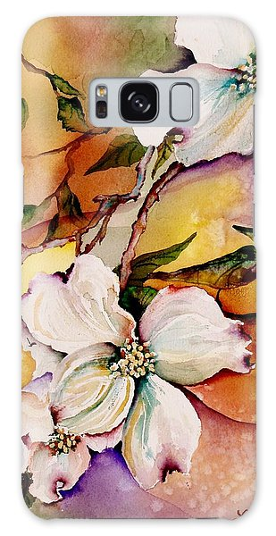 Dogwood In Spring Colors Galaxy Case by Lil Taylor