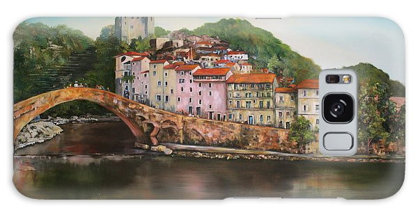 Dolceacqua Italy Galaxy Case by Jean Walker