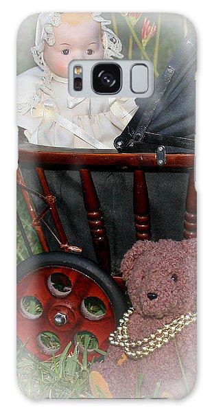 Doll And Teddy Galaxy Case
