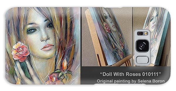 Doll With Roses 010111 Comp Galaxy Case