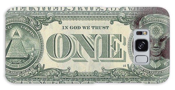 Dollar Bill Alien Galaxy Case