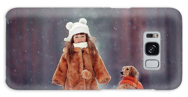 Scarf Galaxy Case - Dolls by Anna Melnikova