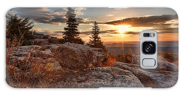 Dolly Sods Morning Galaxy Case by Jaki Miller