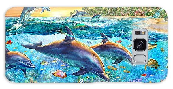 Dolphin Bay Galaxy Case