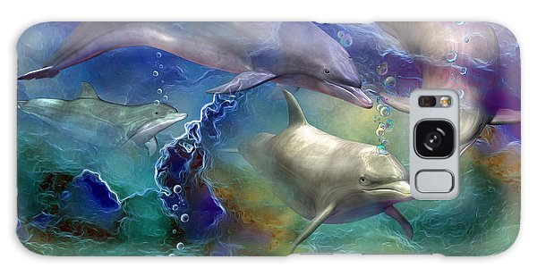 Dolphin Dream Galaxy Case