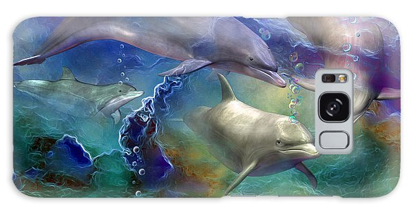 Dolphin Dream Galaxy Case
