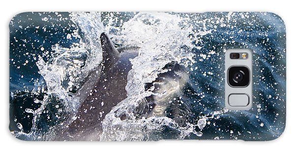 Dolphin Splash Galaxy Case