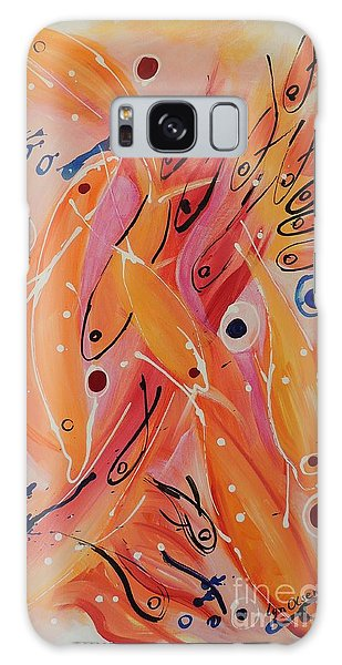Dolphins And Fish Galaxy Case