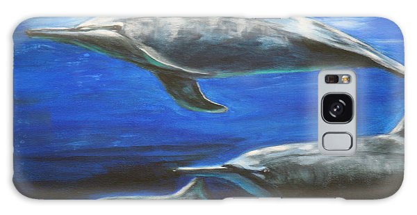 Dolphins Galaxy Case