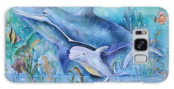 Dolphins Galaxy Case