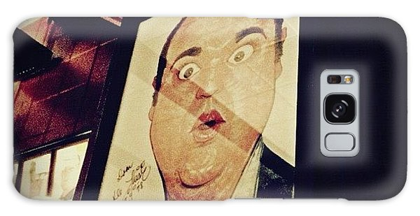 Dom Deluise Galaxy Case by Natasha Marco