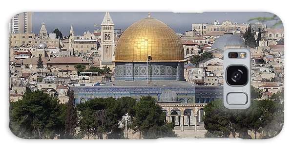 Dome On The Rock  Galaxy Case