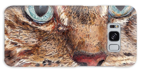 Domestic Tabby Cat Galaxy Case