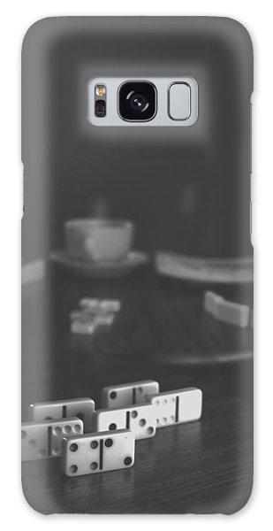 Dominoes Coffee Break II Galaxy Case