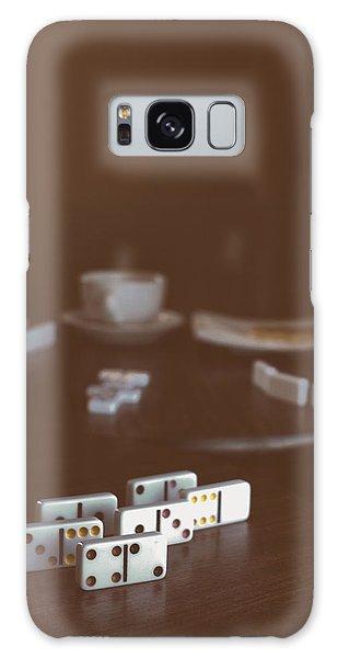 Dominoes Coffee Break Galaxy Case