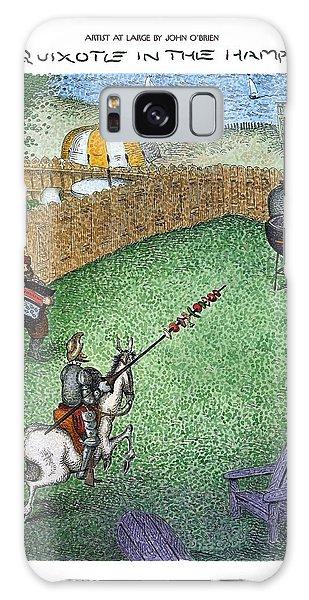 Don Quixote In The Hamptons Galaxy Case