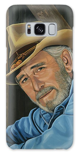 Realistic Galaxy Case - Don Williams Painting by Paul Meijering