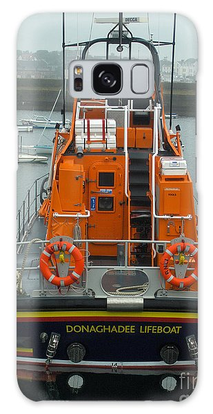 Donaghadee Rescue Lifeboat Galaxy Case by Brenda Brown