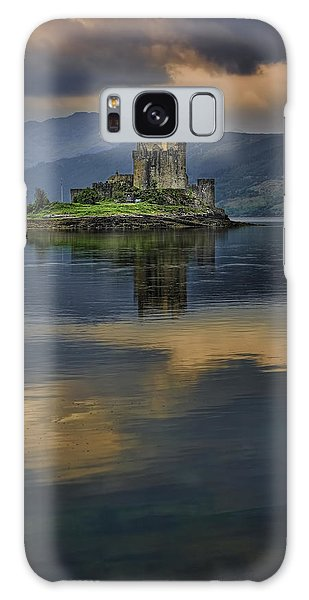 Donan Castle Reflection Galaxy Case