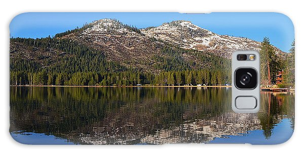 Donner Lake Reflection Galaxy Case