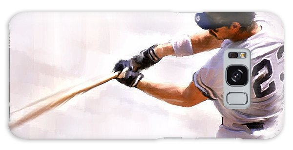 Donnie Ballgame Don Mattingly  Galaxy Case by Iconic Images Art Gallery David Pucciarelli
