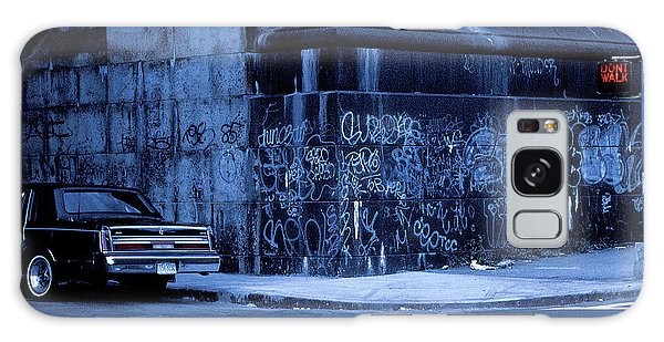 Vintage Cars Galaxy Case - Dont Walk (from The Series new York Blues) by Dieter Matthes