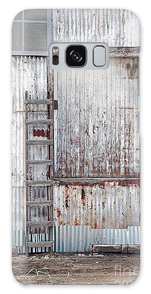Door 1 Galaxy Case by Minnie Lippiatt