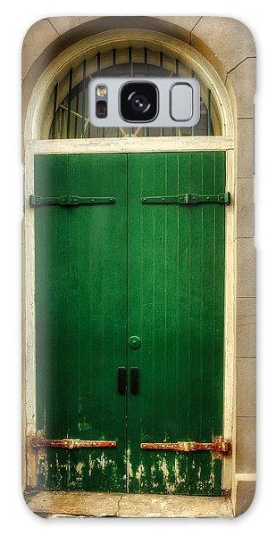 Door And Pipe Galaxy Case