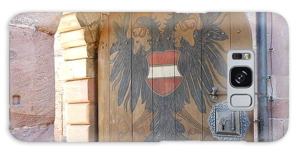 Door At Nuremberg Galaxy Case by Kay Gilley