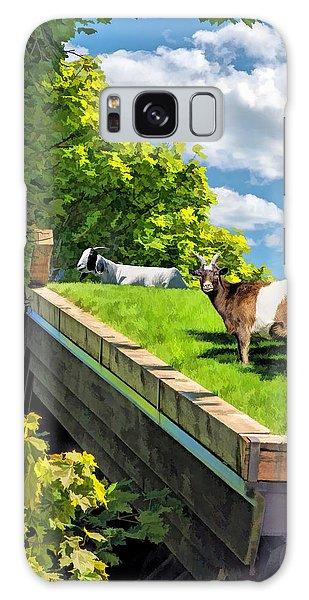 Door County Al Johnsons Swedish Restaurant Goats Galaxy Case by Christopher Arndt