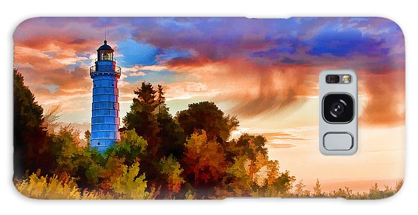 Door County Cana Island Wisp Galaxy Case