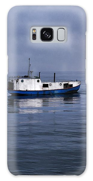 Door County Gills Rock Trawler Galaxy Case