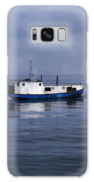 Galaxy Case featuring the painting Door County Gills Rock Trawler by Christopher Arndt