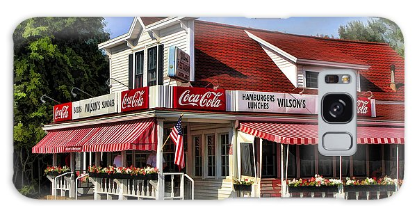 Door County Wilson's Ice Cream Store Galaxy Case